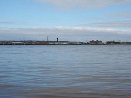 View of Birkenhead in Liverpool photo