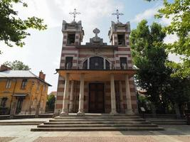 Saint Elizabeth church at Leumann village in Collegno photo