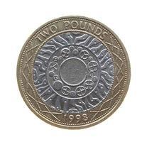 2 pounds coin, United Kingdom photo