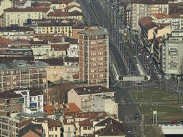 Aerial view of Turin photo