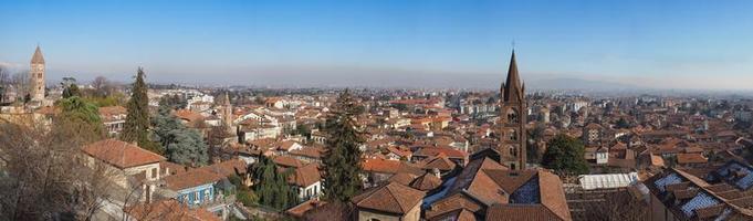 vista aerea de rivoli foto