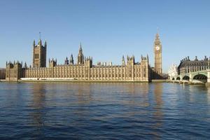 casas del parlamento londres foto