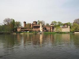 castillo medieval en turín foto