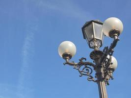 luces de la calle del globo foto