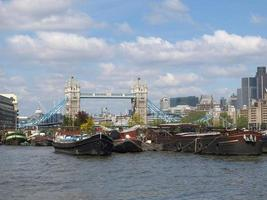 River Thames and Tower Bridge, London photo