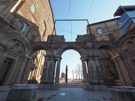 castillo de castello di rivoli en rivoli foto