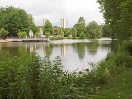 Gardens in Stuttgart, Germany photo