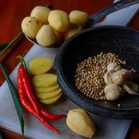 The photo is a photo of ingredients in the form of chilies