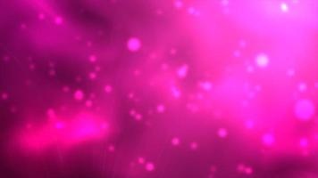 Pink space floating particles background photo