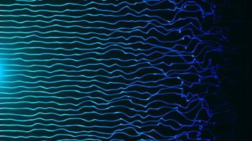 Blue green gradient flame lines background photo