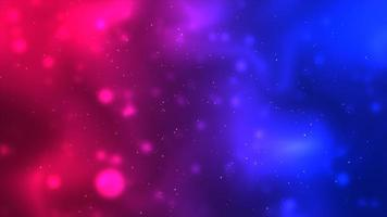 Red and blue floating particle background photo