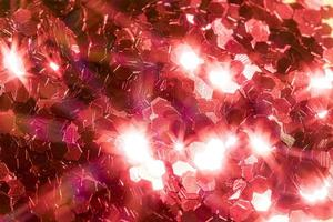 Close up glitter decoration detail photo
