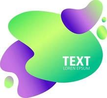 Abstract stains for text vector