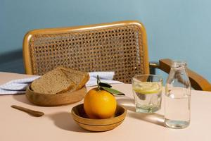 The arrangement delicious takeaway food photo
