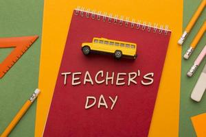 The teacher day elements assortment photo