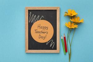 The assortment teacher day elements photo
