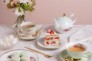 The elegant tea party assortment photo