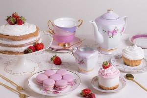 The sophisticated tea party composition photo