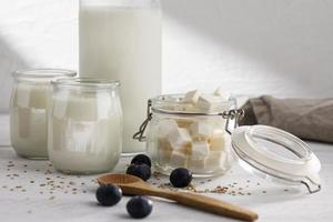 The delicious dairy products berries photo