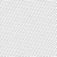 Black dotted pattern on white background and texture vector