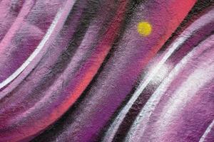 Fondo de graffiti mural colorido para decoración de paredes foto