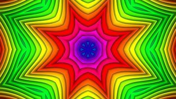 Abstract Colorful Symmetric Kaleidoscope photo