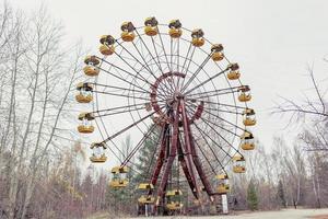 Pripyat, Chernobyl, Ukraine, Nov 22, 2020 - Ferris wheel in Chernobyl photo