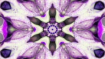 Dry Seashells and Stars Kaleidoscope photo