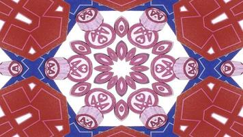 Gambling Dices and Chips Kaleidoscope photo