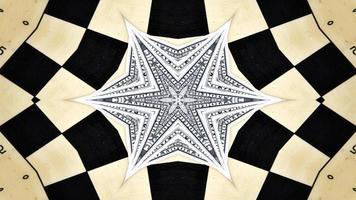 Abstract Money Kaleidoscope photo