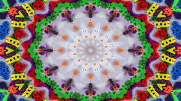 Numbers and Letters Kaleidoscope photo