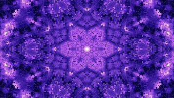 Caleidoscopio de rompecabezas abstractos foto