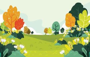 Natural Background Concept vector
