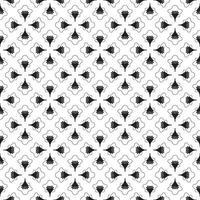 Abstract pattern hand fan retro geometric  Vector illustration