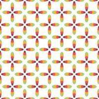 Abstract pattern flower gradient Vector illustration