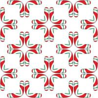 Curves Patterns for Christmas vector illustration