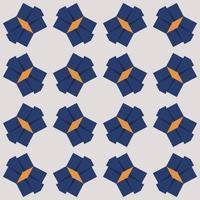 Hair bow pattern Vector illustration