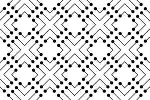 Abstract Pattern polka dots vector illustration