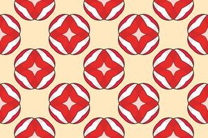 Pattern gift wrapping paper vector illustration