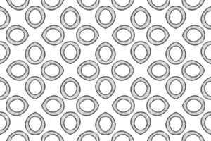 Abstract Pattern hand drawn vector illustration
