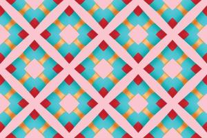 Pattern gradient square for gift wrapping paper vector illustration