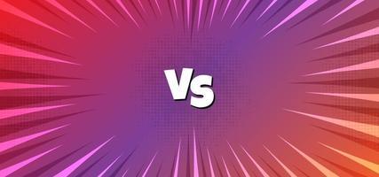 Versus background purple gradient vector