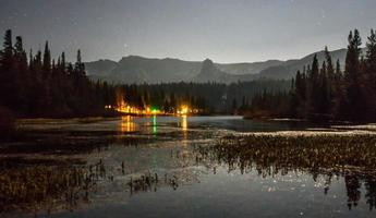 Sierra National Park mountains near Mammoth Lake, California photo