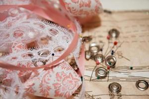 nociones de costura y patrones foto