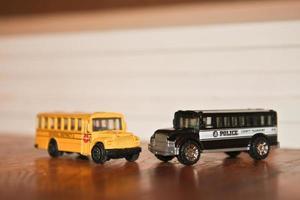 tiny metal busses photo