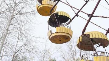 Pripyat, Chernobyl, Ukraine, Nov 22, 2020 - Chernobyl Ferris wheel photo