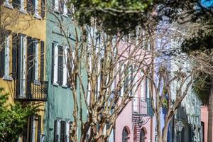 Historic Charleston, South Carolina downtown scenery photo