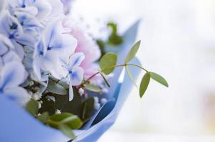 Bouquet of flowers close-up photo
