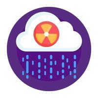 Acid Rain and Deposition vector