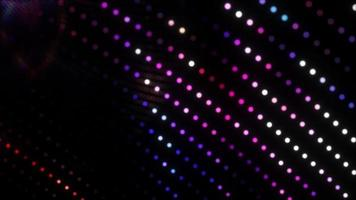 Abstract technology pink blue digital neon dots motion video